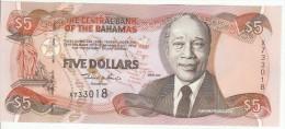 Bagamas 5 Dollars 2001 Pick 63b UNC - Bahamas
