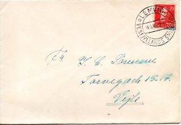 DANEMARK. N°284 Sur Enveloppe Ayant Circulé En 1946. Roi Christian X. - Brieven En Documenten