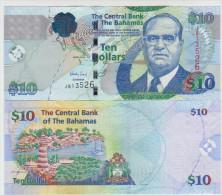 Bagamas 10 Dollars 2009 Pick 73A UNC - Bahamas