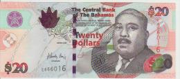 Bagamas 20 Dollars 2006 Pick 74 UNC - Bahamas