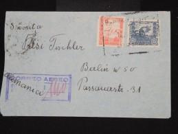 BOLIVIE- Enveloppe Par Avion Pour L 'Allemagne En 1939 - Aff. Plaisant - à Voir - Lot P8450 - Bolivie