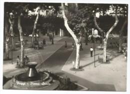 E3201 Fiuggi (Frosinone) - Piazza Spada - Auto Cars Voitures / Viaggiata 1965 - Altre Città