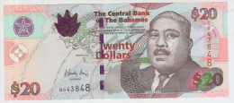 Bahamas 20 Dollars 2010 Pick 74A UNC - Bahamas