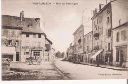 PONTARLIER RUE DE BESANCON (RESATAURANT MOYSE) - Pontarlier