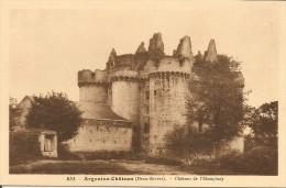 CHATEAU DE L' EBAUPINAY - Argenton Chateau
