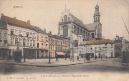 Anvers, Vue Du Marché Au Bétail Et Eglise St. Paul, Hermans (05607) - Antwerpen