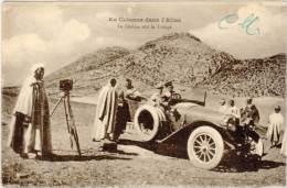 MAROC – En Colonne Dans L'Atlas – Le Cinéma Suit La Troupe ( Automobile ) - Maroc