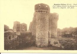 79013 ARGENTON CHÂTEAU - VESTIGES D' UN CHÂTEAU FEODAL Vers 1940 - Argenton Chateau