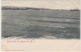 25675g  BEYROUTH - Panorama - Tarazi & Fils Editeur - Liban