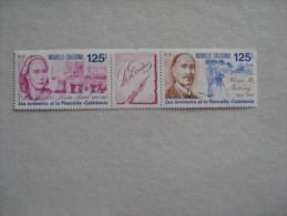 NOUVELLE CALEDONIE     P 607/608 * *   608A   LES ECRIVAINS DE NLLE CALEDONIE* * - Nouvelle-Calédonie