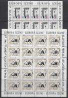 Europa Cept 1994 Croatia 2v  Sheetlets ** Mnh (F3946) - Europa-CEPT