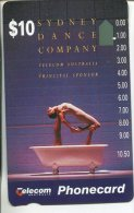 "(1 Phonecard) - Australia Used ""1-hole"" Postcard - Local Legends - Australie"