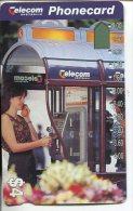 """(1 Phonecard) - Australia Used """"multi-hole"""" Postcard - Phone Box - Australie"""