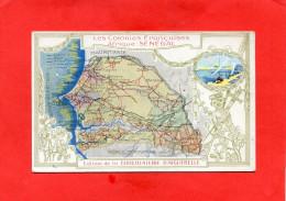 DONZERE    1910  PUBLICITE CHROMO CHOCOLATERIE  AIGUEBELLE COLONIE FRANCAISE SENEGAL    CIRC OUI EDIT - Donzere