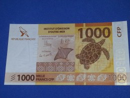 French Pacific 1000 Francs 2014 UNC - Frans Pacific Gebieden (1992-...)