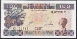 Guinea 100 Francs 1998 P35 UNC - Guinee