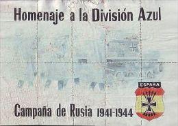 *JK345 CUBA SPAIN ESPA�A POSTER 20 1/2 x 29 1/2. DIVISION CONDOR. COUPON ALMERIA