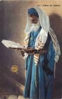 - Ref -H156 - Religions - Judaisme - Judaica - Piere Du Rabbin - Rabbins - Editeur Lehnet & Landrock - Phot. Tunis - - Judaisme