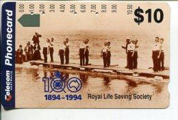 "(2 Phonecard) - Australia Used ""multi-hole"" Postcard - Royal Life Saving Society - Australie"