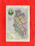 DONZERE    1910  PUBLICITE CHROMO CHOCOLATERIE  AIGUEBELLE DEPT MEUSE BAR LE DUC  VERDUN COMMERCY   CIRC OUI EDIT - Donzere