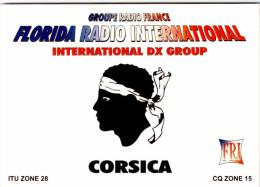CORSICA / FLORIDA  RADIO  /LOT  1322 - Zonder Classificatie