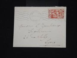 FRANCE - Timbre Seul Sur Lettre En 1936 De Chambery Pour Lyon - Aff. Plaisant - à Voir - Lot P8510 - Storia Postale