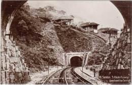 AMERIQUE Du SUD – Brésil – Santos – S. Paulo Railway ( Um Tunnel Na Serra ) - Brésil