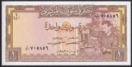 Syria 1 Pound 1982 P93e UNC - Syrie
