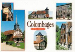 COLOMBAGES   DE  LA  MARNE        (VIAGGIATA) - France