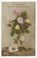 de Contich - je vous envoie ces fleurs  ( 2 scan) verzonden