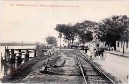 ASIE – TONKIN – Dap-Cau – Rivière, Appontement Et Cercle Militaire - Viêt-Nam
