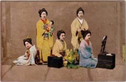 ASIE – JAPON (groupe De Femmes – Cp Non-légendée) - Japon