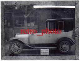 Photo Moderne D'après Plaque De Verre : Carrosserie Automobile Du Tertre Frères, Avignon - Automobiles
