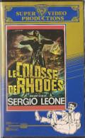 Cassette Video Du Film LE COLOSSE DE RHODES De Sergio LEONE - Action, Aventure