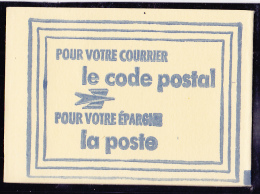 France Vignettes - Carnet Code Postal 37100 Tours - Neuf ** - Superbe - Commemorative Labels