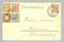 Heimat Österreich Schiffspost K.K.öst.1899-08-02 Bodensee 3-Länderfr. - Briefe U. Dokumente