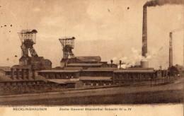 RECKLINGHAUSEN ZECHE GENERAL BLUMENTHAL SCHACHT 3 U 4 - Recklinghausen