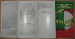 PAKISTAN 1974 MNH VERY RARE BROCHURE LEAFLET NATIONAL DAY FOR TREE PLANTATION, SAPLING