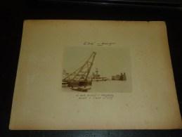 """LOT DE 6 PHOTOS - PHOTOGRAPHIES DU """"SULLY"""" APRES SON ACCIDENT sur le r�cif du Canot en baie d'Along le 7 f�vrier 1905"""