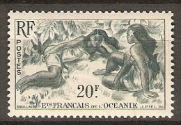 OCEANIE.    -   1948.   . Y&T N°199 *.   Jeunes Filles - Oceania (1892-1958)