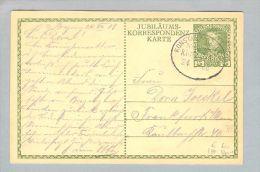 Heimat Österreich Schiffspost Konstanz-Bregenz 1908-08-24 K4 Nach Frankfurt - Briefe U. Dokumente