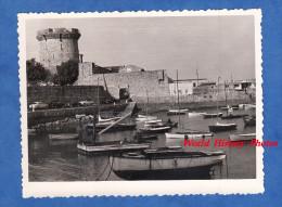 Photo ancienne - CIBOURE - Socoa - Bateau au port - juillet 1959