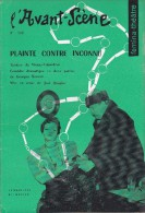 L'Avant Scène Femina Théâtre N° 156 Fin De Partie Samuel Beckett - La Leçon Eugène Ionesco - Non Classés
