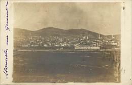 - Ref -H115 - Macedoine - Carte Photo  Monastir -  Vue Generale - - Macédoine