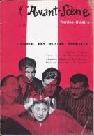 L'Avant Scène Femina Théâtre N° 155 L'amour Des Quatre Colonels Peter Ustinovadap. MG Sauvajon - Non Classés