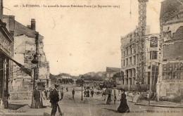 SAINT  ETIENNE    La Nouvelle Avenue President Faure - Saint Etienne