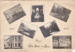 Romania - Iasi - 1866-1916 - Colaj 7 X Foto - 40x30mm - Lugares