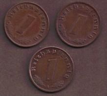DEUTSCHES REICH 1 REICHSPFENNIG 1940 A - [ 4] 1933-1945 : Third Reich