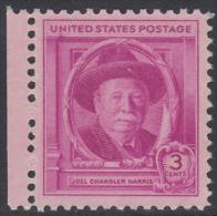 !a! USA Sc# 0980 MNH SINGLE W/ Left Margin - Joel Chandler Harris - Verenigde Staten