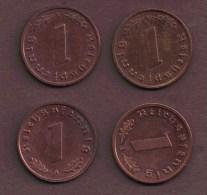 DEUTSCHES REICH 1 REICHSPFENNIG 1939 A - [ 4] 1933-1945 : Third Reich